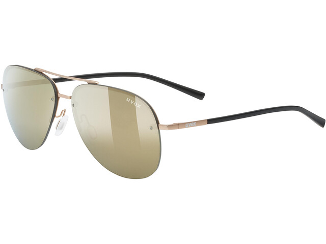 UVEX LGL 40 Lunettes, gold mat/mirror gold